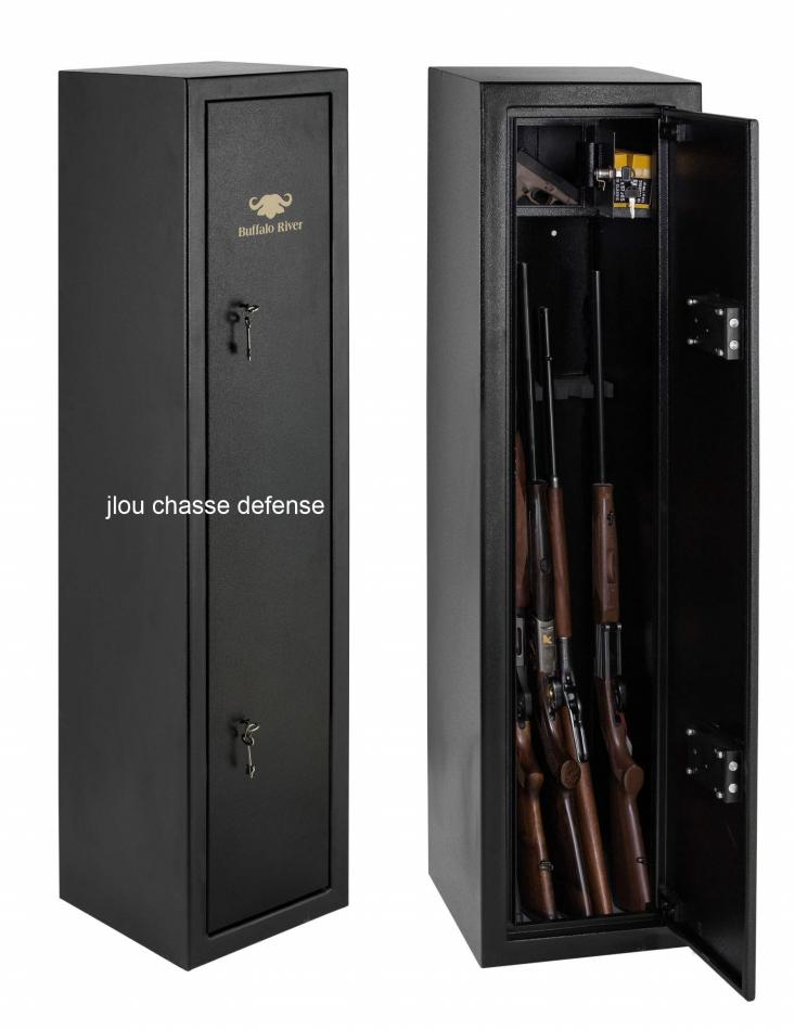 coffre buffalo first 7 armes longues clef. Black Bedroom Furniture Sets. Home Design Ideas